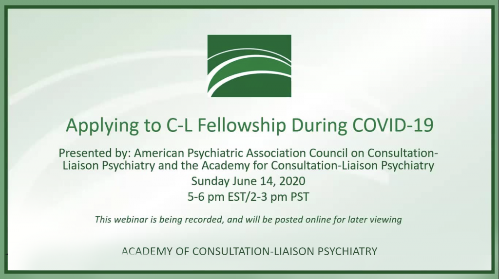 Applying to a CL Fellowship During COVID-19